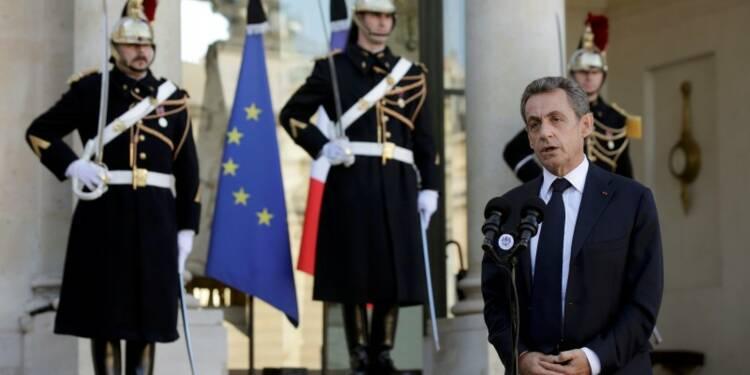 François Hollande a reçu les dirigeants politiques à l'Elysée