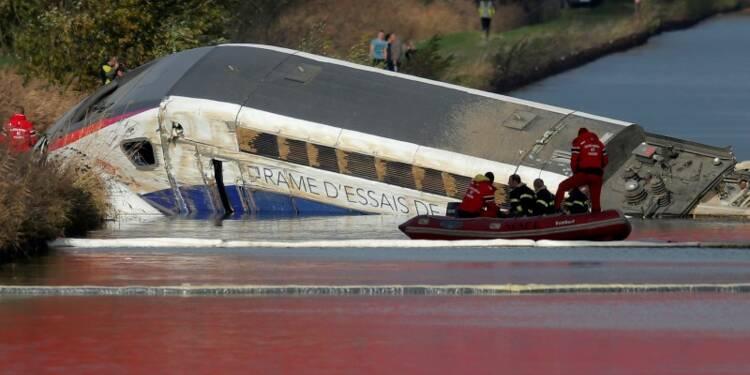 L'accident du TGV d'essai en Alsace dû à une vitesse excessive