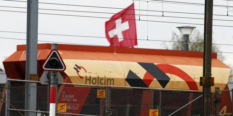 Le bénéfice net de Holcim dopé par une cession au 1er trimestre