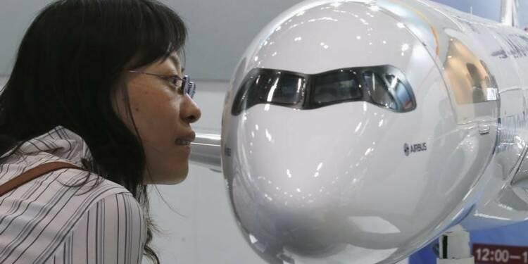 Airbus ne voit pas la demande chinoise d'avions faiblir