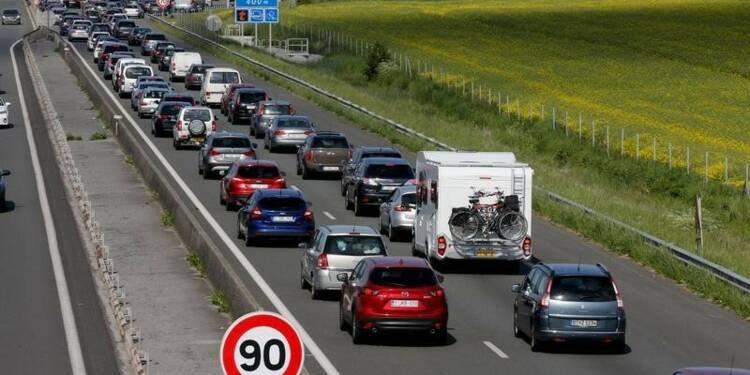 Ségolène Royal favorable à des portions d'autoroute à 90km/h
