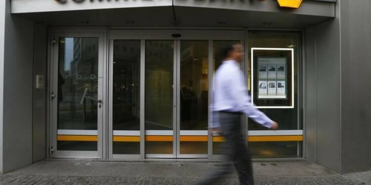 Les nouvelles actions Commerzbank placées à 12,10 euros