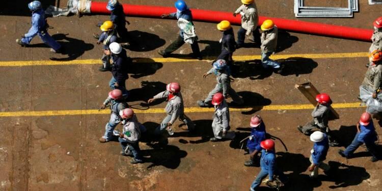 L'activité du secteur privé marque le pas