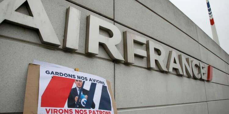 Le gouvernement apporte un soutien appuyé à Air France