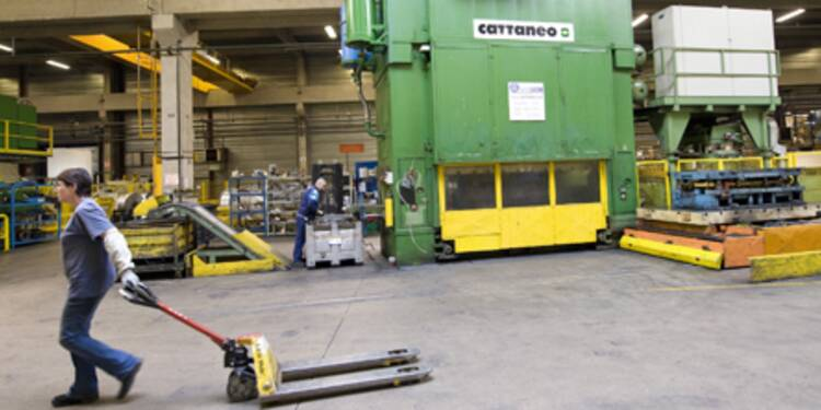 Rechute surprise de la production industrielle en zone euro