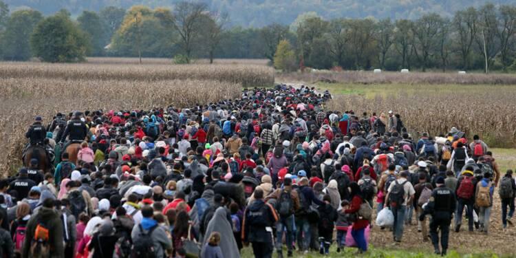 Les pouvoirs de l'armée slovène accrus face au flux de migrants