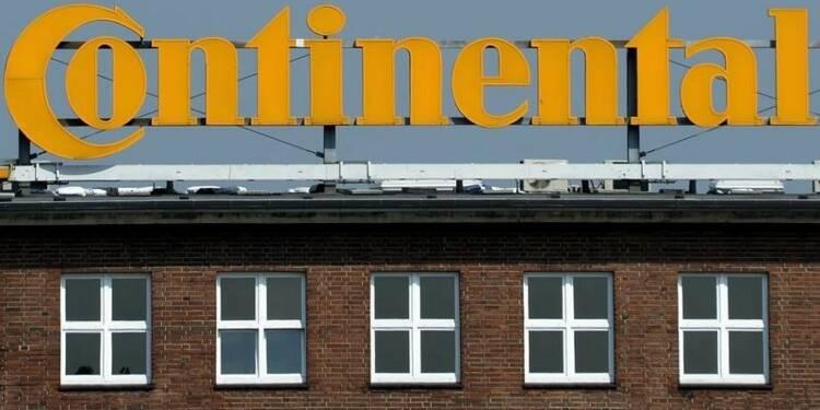Continental manque le consensus au 3e trimestre, le titre baisse