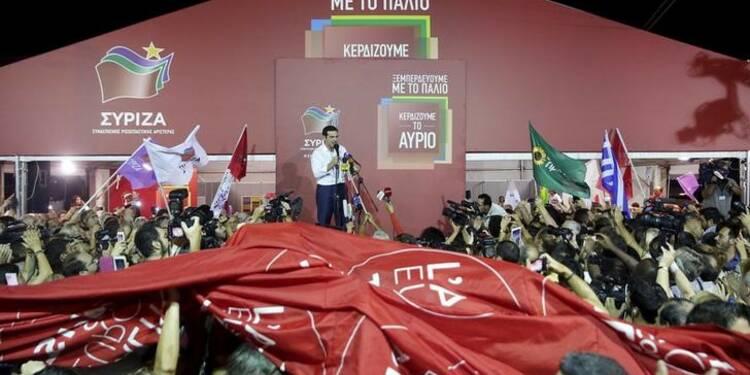 Les Grecs accordent de nouveau leur confiance à Alexis Tsipras