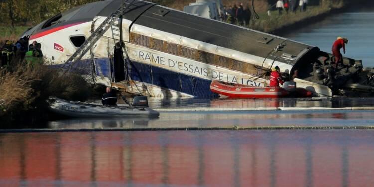 Le conducteur du TGV accidenté nie tout excès de vitesse