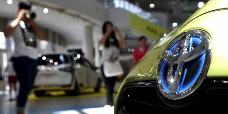 Encore un profit record pour Toyota au 1er trimestre
