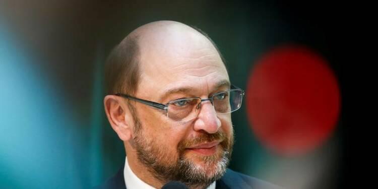 Schulz d'accord avec Macron sur un budget commun de la zone euro