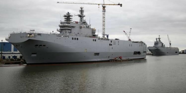 Moscou n'imposera pas de pénalités à Paris pour les Mistral