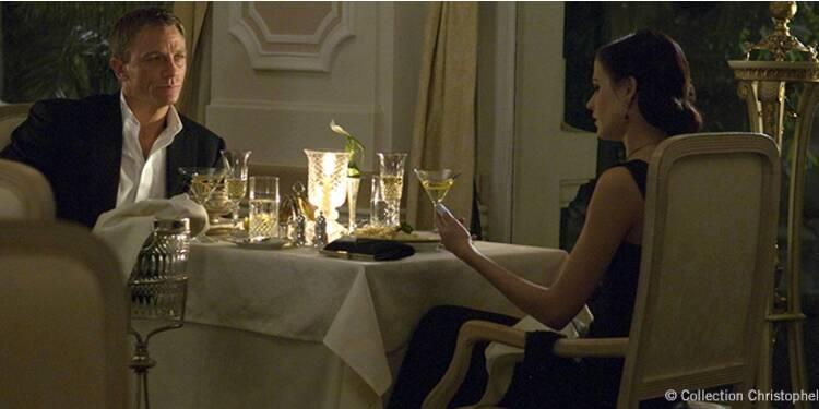 Passer à table... tout un art pour James Bond !