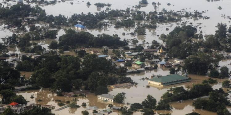 L'est de l'Inde et la Birmanie touchés par des crues meurtrières
