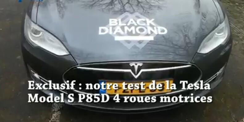Le modèle 4X4 de Tesla déboule sur les routes de France…et ça décoiffe