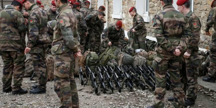 Une majorité de Français pour une opération terrestre en Syrie
