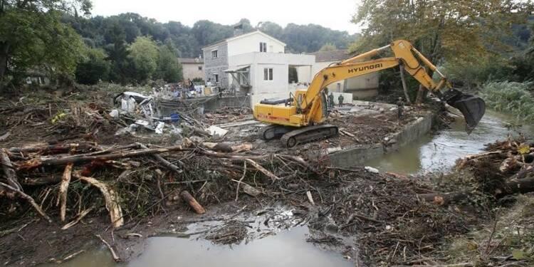 Le coût des inondations évalué entre 550 et 650 millions d'euros