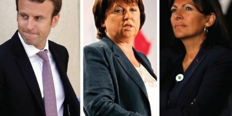 """Macron, Aubry, Hidalgo, """"le silence est d'or"""", dit Hollande"""