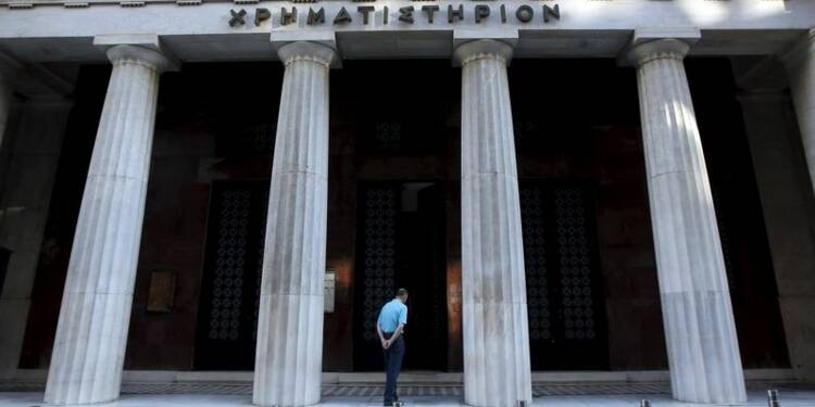 La Bourse d'Athènes reste fermée