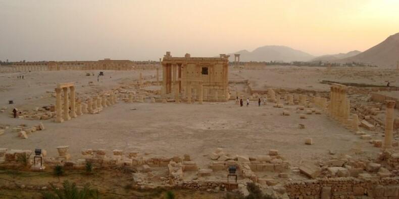 L'EI diffuse des images de la destruction d'un temple à Palmyre