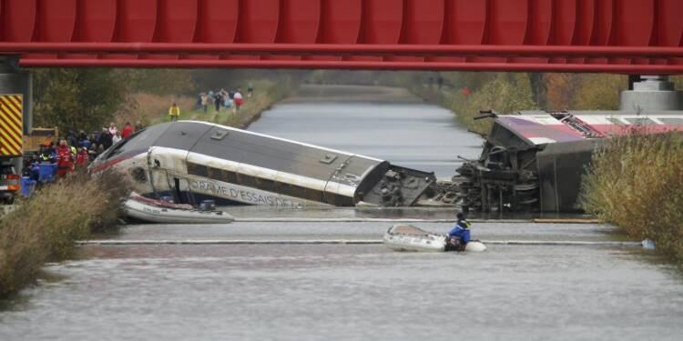 Un onzième mort lors du déraillement d'un TGV d'essai en Alsace