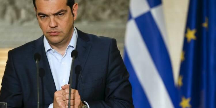 Alexis Tsipras présente une nouvelle offre à Angela Merkel