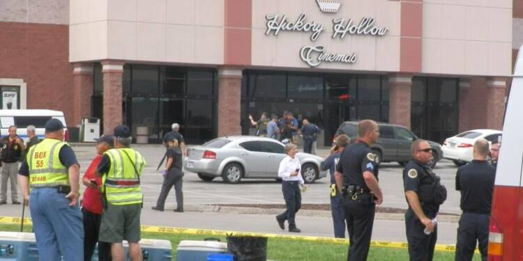 Un homme armé d'une hache abattu dans un cinéma à Nashville