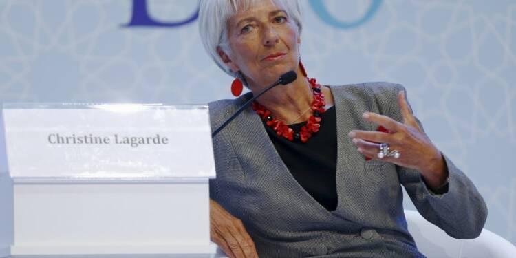 Lagarde invite la Fed à ne pas précipiter la hausse des taux