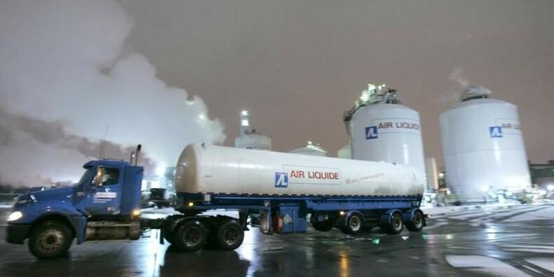 Les ventes d'Air Liquide poussées par la Chine au 1er trimestre