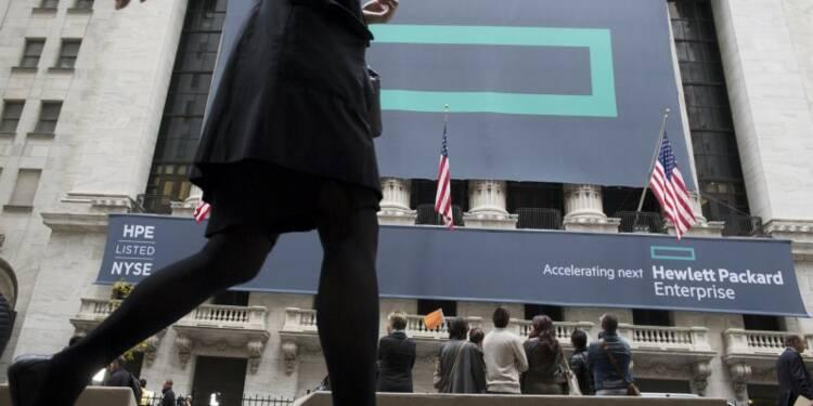 HP Inc et HPE évoluent en ordre dispersé à Wall Street