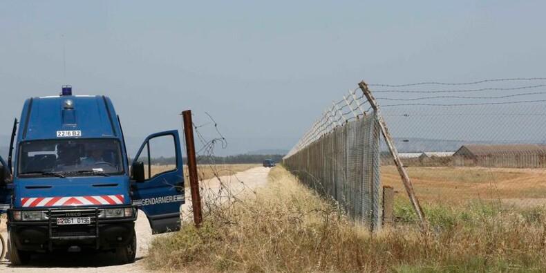 Vols dans un dépôt de munitions de l'armée de terre à Miramas