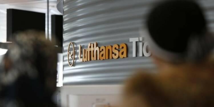 La grève des pilotes a affecté le trafic de Lufthansa en mars
