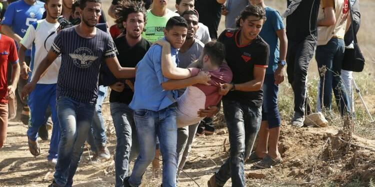 Les violences entre Israéliens et Palestiniens s'étendent à Gaza