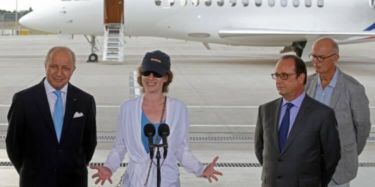 L'ancienne otage Isabelle Prime est rentrée en France