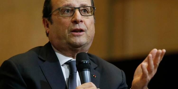 Elu il y a 3 ans, Hollande entre autopromotion et vues sur 2017