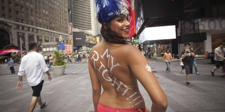 Le maire de New York veut faire le ménage à Times Square