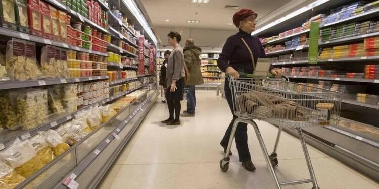L'inflation reste nulle en mars en Grande-Bretagne