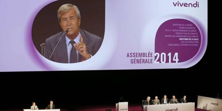 Psam réclame 9 milliards d'euros à Vivendi pour les actionnaires