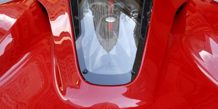 Ferrari gagne 15% pour ses débuts à Wall Street