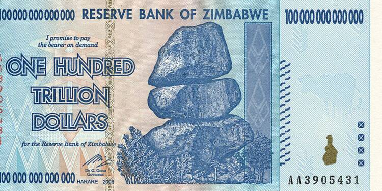 Le Zimbabwe, ce pays où tous les habitants sont multi-milliardaires