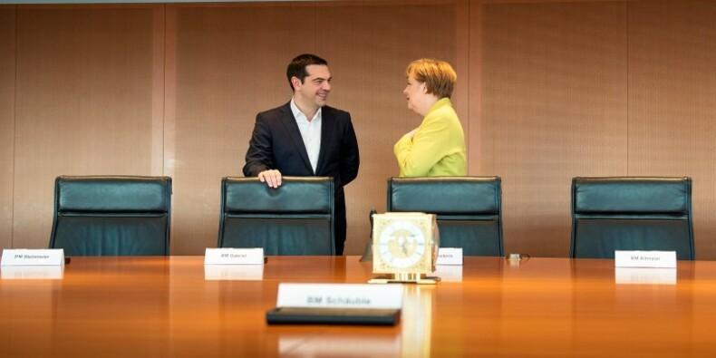 Un ton apaisé pour la première visite de Tsipras à Berlin