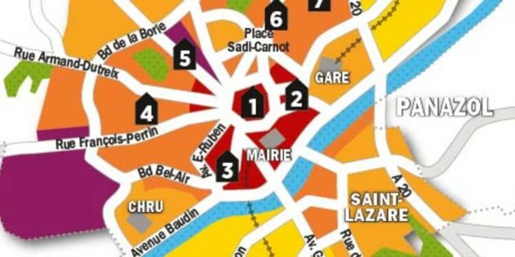 Immobilier : la carte des prix de Limoges