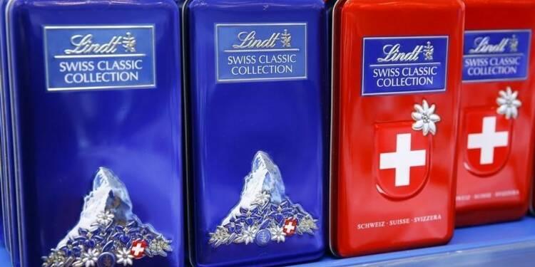 L'action du chocolatier suisse Lindt atteint un record