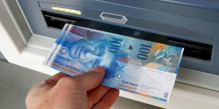 Le franc fort a eu un impact sur le PIB suisse au 1er trimestre