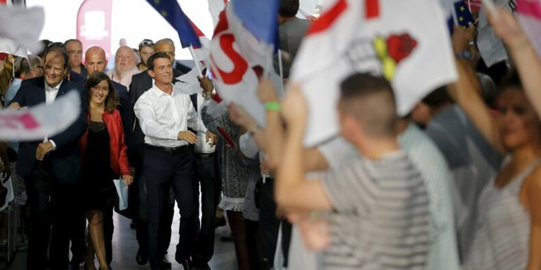 Manuel Valls, candidat préféré à gauche pour 2017