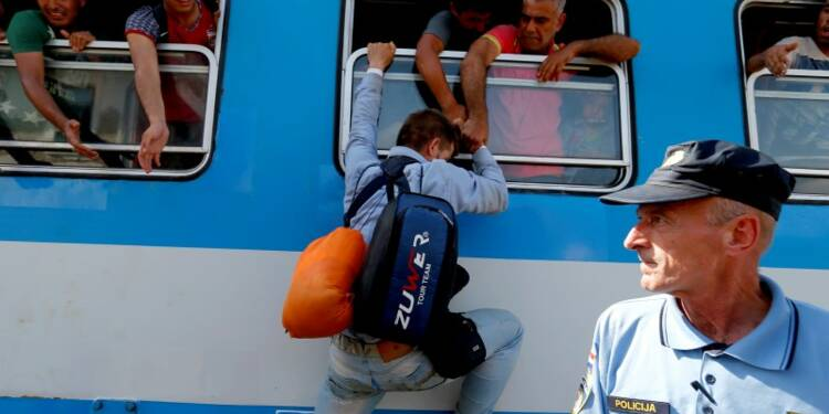 La Croatie débordée par l'arrivée de migrants