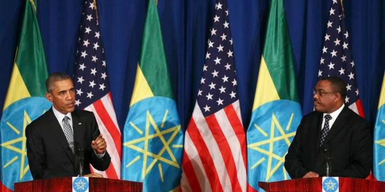 Barack Obama souhaite plus de liberté politique en Ethiopie