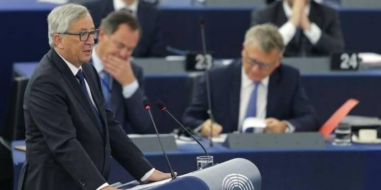 Juncker invite l'UE à la dignité vis-à-vis des réfugiés