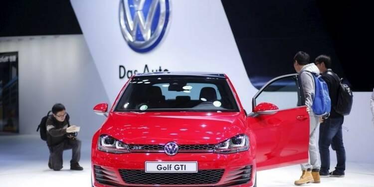 Les ventes de Volkswagen en baisse de 3,7% en juillet