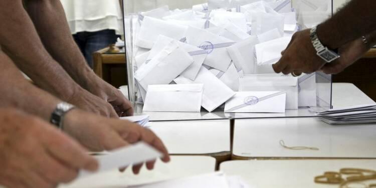 """59,8% de """"non"""" après dépouillement de 10% des bulletins en Grèce"""